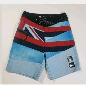 Quicksilver Mens Boardshorts British Flag Size 26